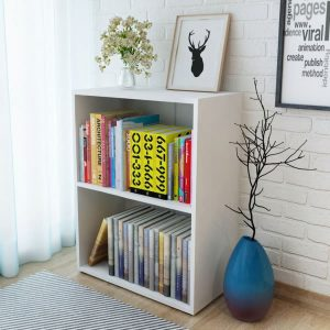 Bookshelf Chipboard - White