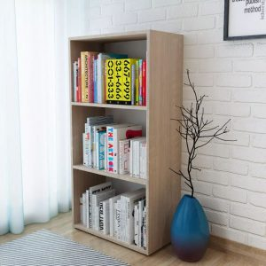 Bookshelf Chipboard - Oak