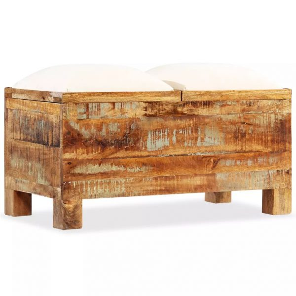 Storage Bench Solid Reclaimed - Wood