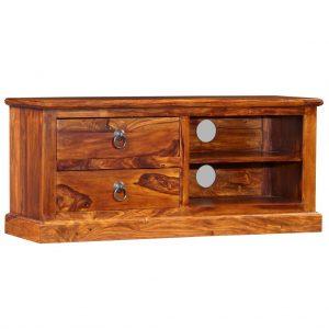 TV Cabinet - Solid Sheesham Wood
