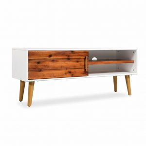 TV Cabinet Solid Acacia - Wood