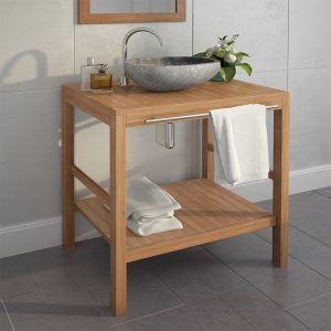 Bathroom Vanity Cabinet Solid Teak