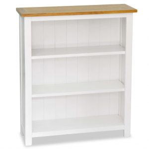 3-Tier Bookcase - Solid Oak