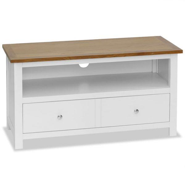 TV Cabinet Solid Oak - Wood