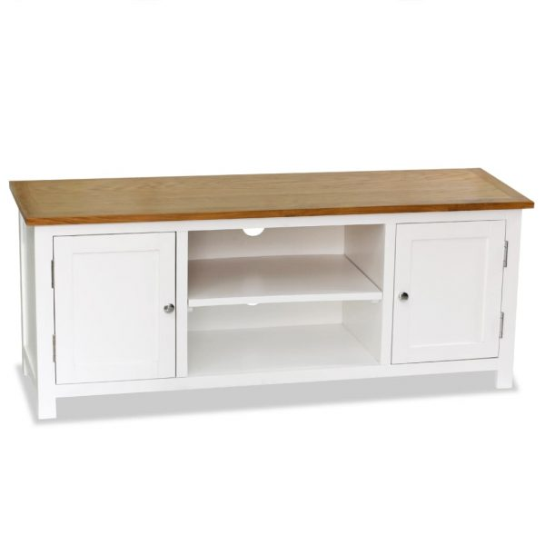 TV Cabinet Solid Oak - Wood