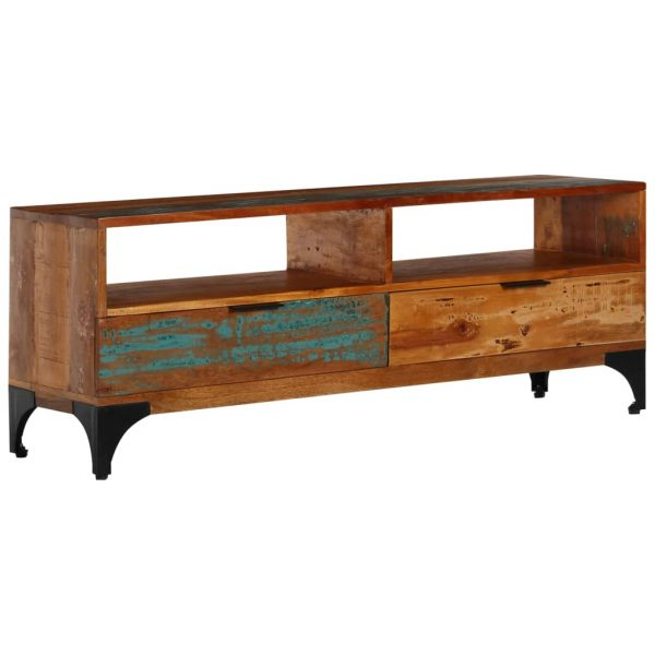 TV Cabinet Solid Reclaimed - Wood