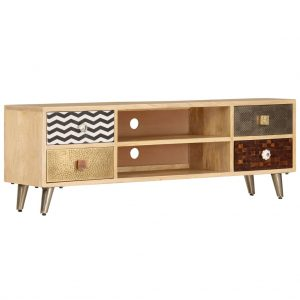 TV Cabinet - Solid Mango Wood