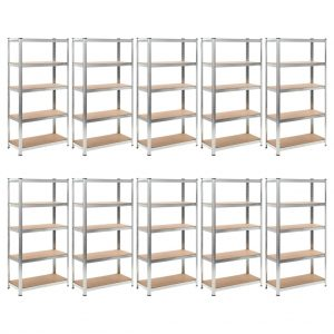 Heavy-duty Storage Rack 10 pcs