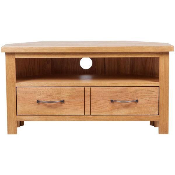 TV Cabinet with Drawer 88 x 42 x 46 cm Oak