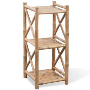 3-Tier Square - Bamboo Shelf