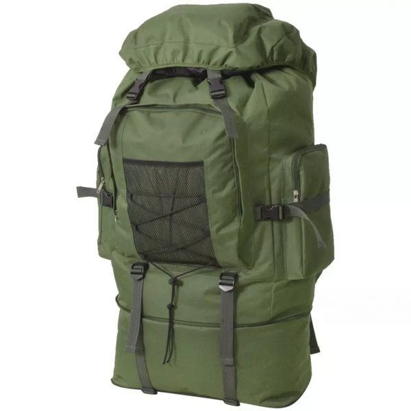 Army-Style Backpack - Green
