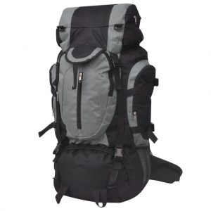 Hiking Backpack -Black and Grey