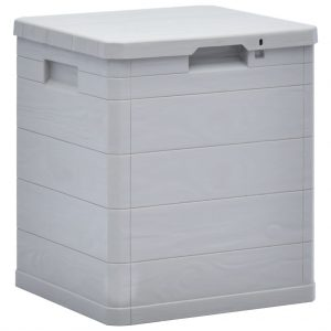 Garden Storage Box - Light Grey
