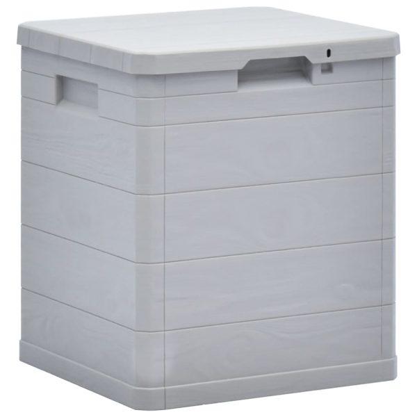 Garden Storage Box - Light Grey