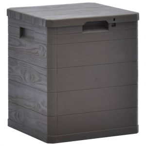 Garden Storage Box - Brown