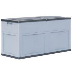 Garden Storage Box - Grey Black