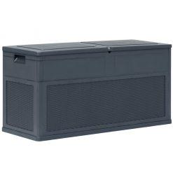 Garden Storage Box 320 L Anthracite