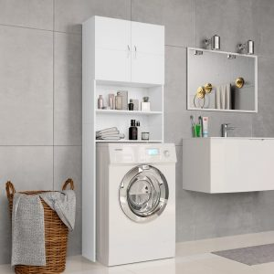 Washing Machine - Cabinet White Chipboard