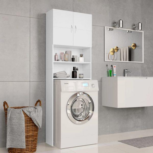 Washing Machine - Cabinet White Chipboard