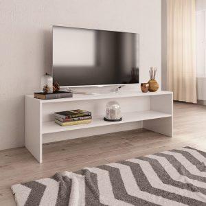 TV Cabinet White-Chipboard