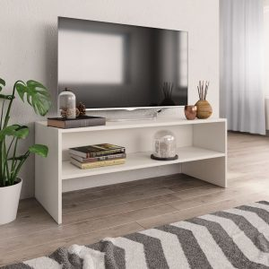 TV Cabinet White - Chipboard