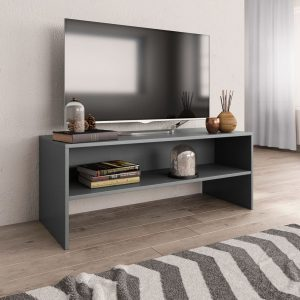 TV Cabinet Grey - Chipboard