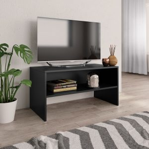 TV Cabinet Black - Chipboard