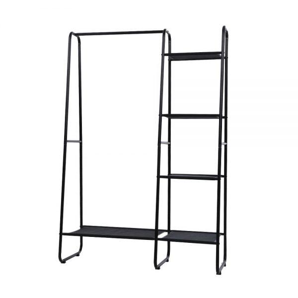 Large Metal Clothes Rack - Black