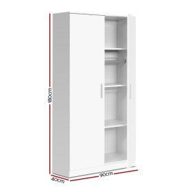 Multi-purpose Cupboard - White