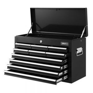 10 Drawer Tool Chest - Black