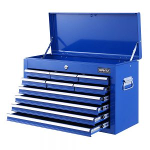 10 Drawer Tool Chest - Blue