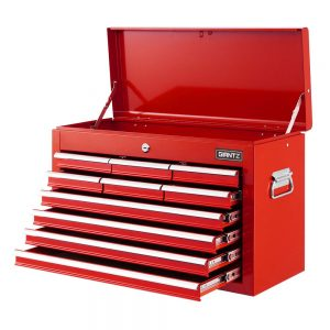10 Drawer Tool Chest - Red