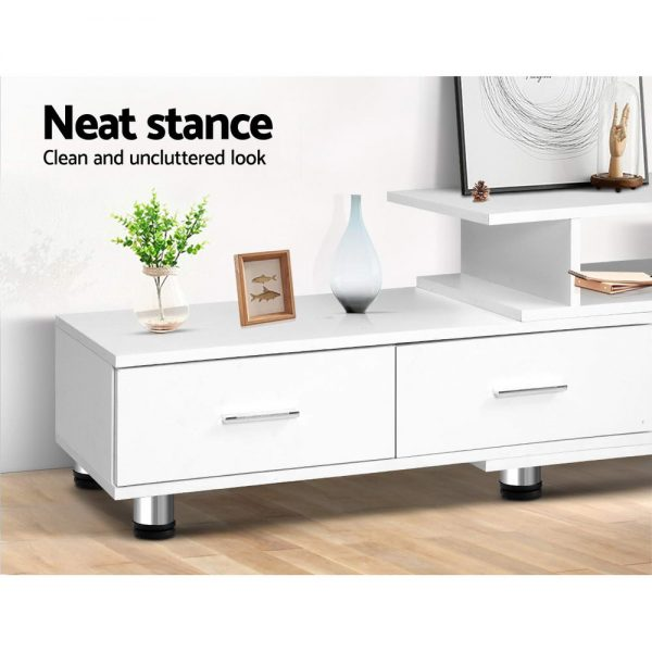 3-in-1 Entertainment Unit - White
